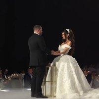 Nejluxusnější svatba roku: Saša koupil prsten za 200 milionů, nevěsta Xenie měla hned dvoje šaty!