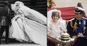 Prasklo po letech: Co všechno měla Diana ukryté ve svatebních šatech?!