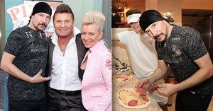 Hvězda Plesu upírů Bohuš Matuš dělá pizzaře!