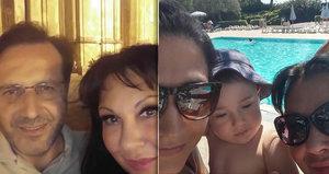 Patrasová do Itálie k milenci pozvala i Felixe s partnerkou! Sama si hrála s vnoučkem (1)