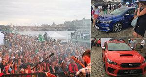 Luxusní auta lákají na náplavku tisíce lidí: Deset vozů uvidí v Česku vůbec poprvé