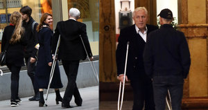 Karel Heřmánek na prahu sedmdesátky chodí o dvou berlích! Co se stalo?