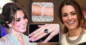 Soukromá klenotnice vévodkyně Kate: Podívejte se, co v ní ukrývá!