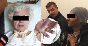 »Prosil jsem o 10 korun a ten řetízek se strhl«, hájil se feťák (37), který přepadl seniorku (88)
