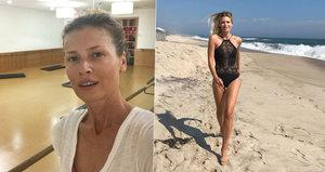 Dvě tváře Daniely Peštové: Zmučená v posilovně, pak sexy bohyně na pláži