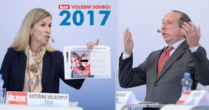 Drsná hádka o inkluzi: Valachová máchala před Klausem ml. fotkami postižených dětí
