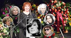 Celebrity se loučily s Květou Fialovou (†88): Jak na ni vzpomínají?
