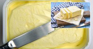 Margarín vs. máslo: Bude nás stát šetření v obchodech zdraví?