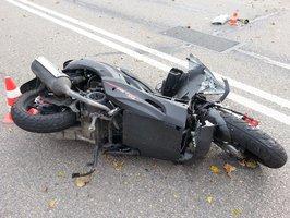 Na Zlínsku se srazili dva motorkáři: Jeden nepřežil!