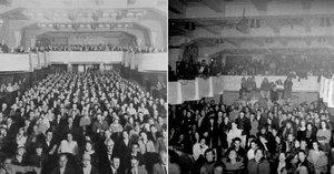 V klubu Roxy bývalo prvorepublikové kino. Hořlavým filmům vděčí za únikové cesty