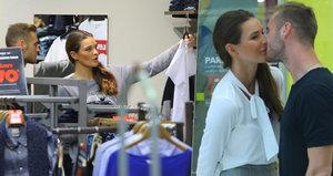 Nikol Švantnerová vyrazila s přítelem na nákupy: Svého fotbalistu si vzala do parády