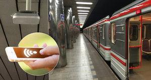 Surfování v metru: Praha dnes spustila wi-fi v šesti vytížených stanicích