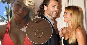 Jágrova Kopřivová vysvětlila záhadný zlatý kroužek! Je to snubní prsten?