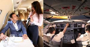 Tajemství letušek: Sex s boháči za peníze a s piloty v kokpitu?!