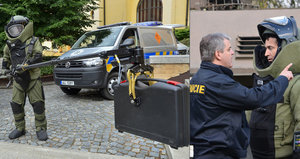 Policejní pyrotechnici musejí projít těžkými testy. Stříhání drátů je třeba brát s nadsázkou