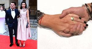 Leoš Mareš požádal Moniku Koblížkovou o ruku: Ona řekla ano!