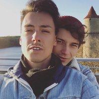 Matěj Stropnický a Daniel Krejčík už lásku neskrývají! První společné foto