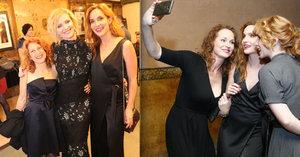 Premiéru filmu Milada ovládly zrzky: Geislerová, Hrubešová, Vagnerová i Kerekes jako ohnivé ženy