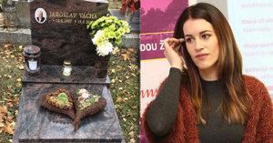 Smutná Lucie Křížková: Po půl roce se stále nesmířila se smrtí táty