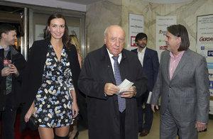Slováček s Gelemovou na premiéře: Nechtěně ukázal nakažlivé kožní onemocnění!
