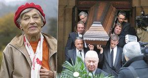 Pochování Luby Skořepové (†93): Uložili ji do hrobu beze jména!