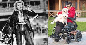 Marika Gombitová má poprvé elektrický vozík! Po 37 letech invalidity