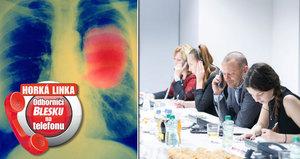 Horká linka Blesku: Co možná nevíte o rakovině? I muži mají rakovinu prsu!