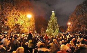Světýlka na vánočním stromě »rozžehnou« i v Praze 9: Zváni jsou všichni sousedé