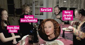 Unikátní foto ženatého Gotta: S Alicí a dětmi jako rodina!