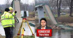 Komentář: V Troji spadla lávka s lidmi do Vltavy. Kdy začnou padat i mosty?