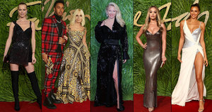 To NEJ z Fashion Awards: Rita Ora dráždila dekoltem, Pamela Anderson k nepoznání a také jedna Češka!