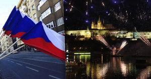 Novoroční ohňostroj odpálí z Letné: Na obloze se v 11 minutách proženou i státní vlajky