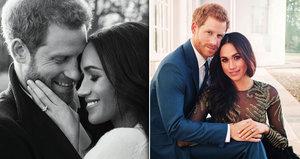 Princ Harry a Meghan Markle: První společné vánoční fotky!
