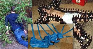 Pozor na silvestrovské veselí, ať nejste takhle opilí: 30 legračních fotek největších alkoholiků