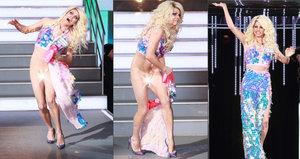 Pořádný novoroční trapas: Hvězdě Big Brotheru spadla v přímém přenosu sukně!