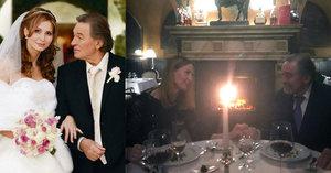 Karel Gott slavil s Ivanou výročí svatby: Romantiku narušila ostrá slova fanoušků