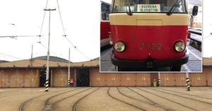 Hala hloubětínské tramvajové vozovny půjde k zemi. Nahradí ji nová a modernější