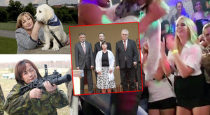 Pět let s Ivanou Zemanovou: Střílí, mění účesy, má tetování a vyhlíží vnoučata
