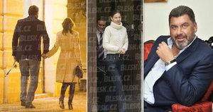 Záhadná brunetka Zemanova poradce Martina Nejedlého: »Půjčil« si ji od kamaráda!