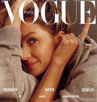 Celebrity na síti: Gisele bez make-upu na titulu Vogue, napálená Absolonová