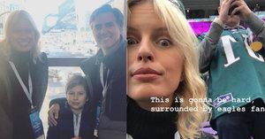 Karolína Kurková na Super Bowlu: S rodinou v kotli fanoušků soupeře!