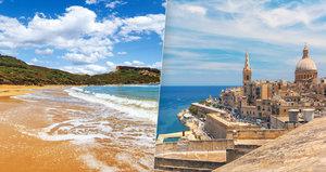 Tajemná Malta: Křišťálové moře, dechberoucí památky a kopa zábavy