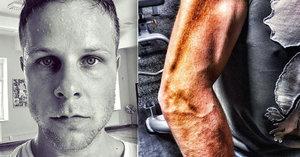 Tanečník ze StarDance Jan Onder se mění v horu svalů. Ukázal napumpovaný bicák