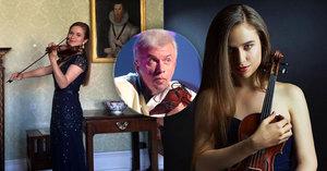 Nejznámější český houslista Svěcený: Krásná dcera dobývá svět! Ale ne díky otci