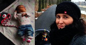 Měsíční dcera dává Šilhánové zabrat: Prosíme, už neřvi, vzkazuje jí s tatínkem