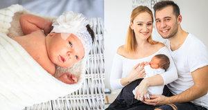 Vágnerová dva týdny po porodu: Děda chodí za Madlenkou skoro každý den!