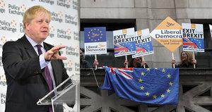 """Nesmějte se škodolibě """"eurohujerům"""", přesvědčoval Brity ministr. Brexit nás má sjednotit"""