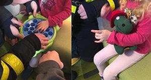 Holčičce (4) z Bílovce uvízl prst v hračce: Zasáhnout museli hasiči!