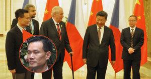 Zadržení Zemanova rádce bylo na přímý rozkaz prezidenta? Číňané spekulace odmítají