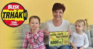 Výherkyně Věra Černá (53) z Říčan: Za 5000 zapijí vnouče!